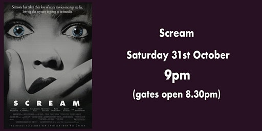 "Drive-In Cinema: ""Scream"""