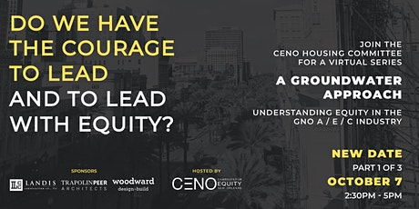 CENO Groundwater: Understanding Equity in the GNO A/E/C Industry tickets