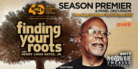 #WHUTtv - Free Season  Premier of Finding Your Roots tickets