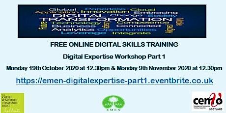 Digital Expertise Part 1(EMEN Digital Inclusion Workshop) tickets