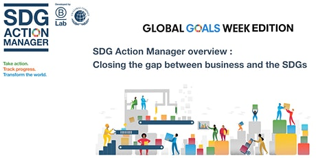 GlobalGoalsWeek edition : Closing the gap between business and the SDGs tickets