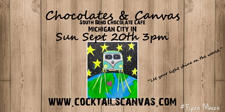 """Chocolates & Canvas """"Shine Your Light Upon the World"""" tickets"""