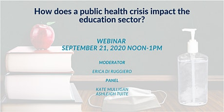 How does a public health crisis impact the education sector? tickets