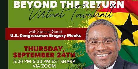 One Voice Africa - Beyond the Return Townhall : Investing in Africa tickets