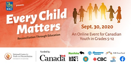 Every Child Matters / Chaque enfant compte tickets