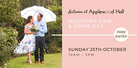 Autumn at  Applewood Hall - Wedding Open Day tickets