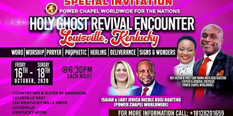 HOLY SPIRIT REVIVAL ENCOUNTER (LOUISVILLE KENTUCKY) tickets