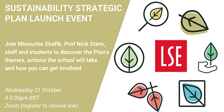 LSE's Sustainability Strategic Plan Launch tickets