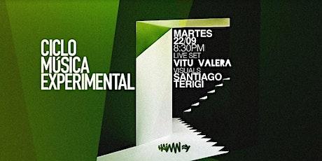 Ciclo de Música Experimental #3 entradas