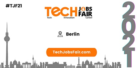 Tech Jobs Fair Berlin - 2021 Tickets