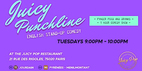 The Juicy Punchline - Standup in English billets