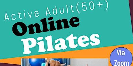 Active Adults 50+ Online Pilates