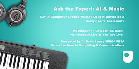 AI, Computational Music and Creativity tickets