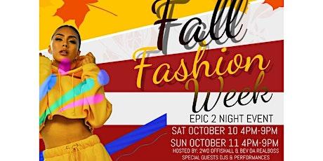 Fashion Fest Weekend tickets