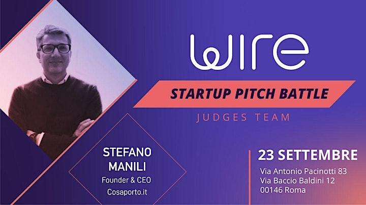 Immagine Wire Startup Pitch Battle