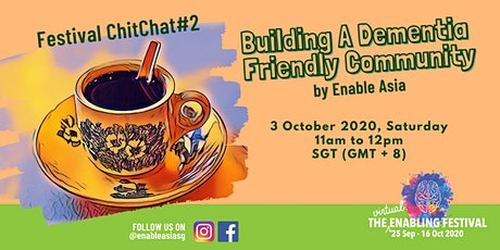 Festival ChitChat#2: Building a Dementia Friendly Community tickets