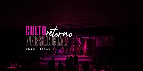 INJ - Culto Presencial -18h30 -  20/09/2020 - Culto Noite ingressos