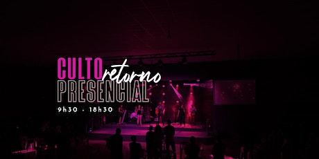 INJ - Culto Presencial - 9h30 -  20/09/2020 - Culto Manhã ingressos