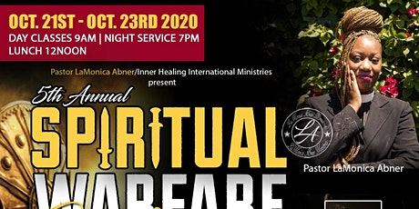 Spiritual warfare Conference 2020 tickets