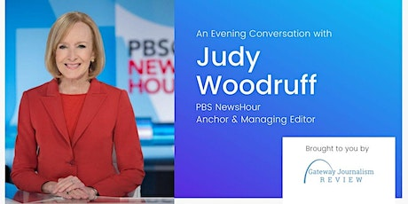 An Evening Conversation with Judy Woodruff of the PBS NewsHour tickets