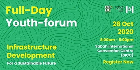 Youth Forum on Infrastructure Development for a Sustainable Future tickets
