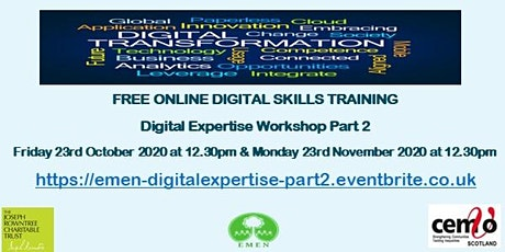 Digital Expertise Part 2(EMEN Digital Inclusion Workshops) tickets