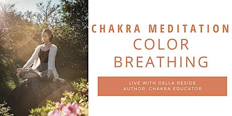 Chakra Color Breathing Meditation tickets