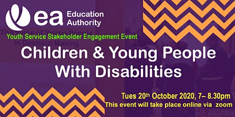 Stakeholder Engagement on Children & Young People with Disabilities tickets