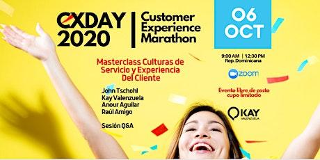 CXSantoDomingo 2020 Customer Experience Marathon entradas