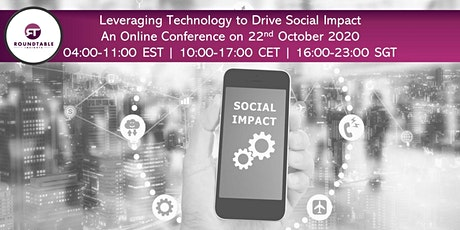 Leveraging Technology to Drive Social Impact tickets