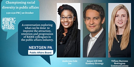 Championing racial diversity in public affairs tickets