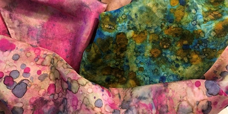 Silk Scarves - Alcohol Ink (Ages High School - Adult) tickets