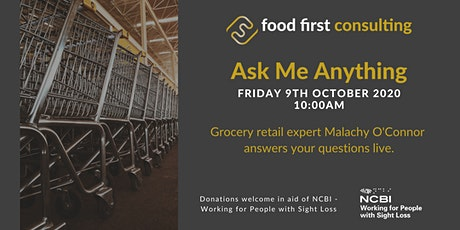 Ask Me Anything - 9th October 2020 tickets