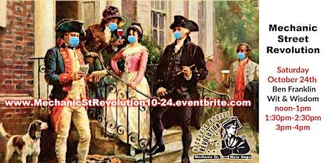 Revolutionary Lunch/Reenactment Ben Franklin tickets