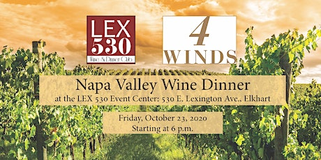 Napa Valley Wine Dinner tickets