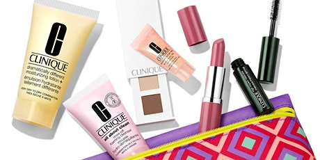 It's Clinique Gift with Purchase time at Hudson's Bay tickets