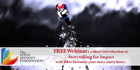 Storytelling For Impact  - Life Long Learning Webinar Series tickets