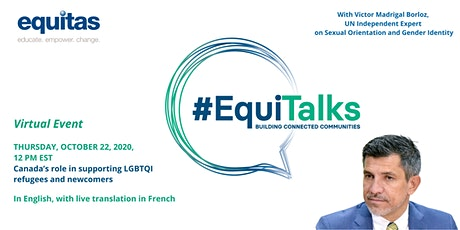 EquiTalks - Canada's Role in Supporting LGBTQI Refugees and Newcomers billets