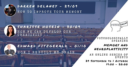 Online - Psych Talks Presents: Memory and Neuroplasticity tickets