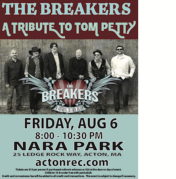 The Breakers - Tom Petty Tribute Band image
