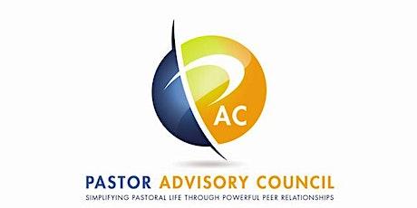 Pastor Advisory Council- September 2020 tickets