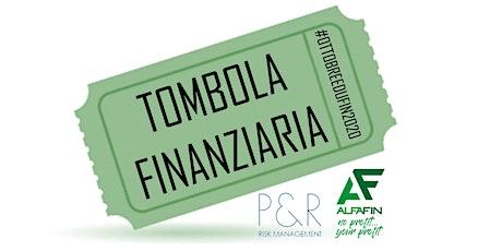 Tombola Finanziaria - 25/10/2020 - Alfafin biglietti