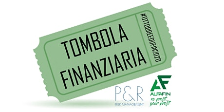 Tombola Finanziaria - 25/10/2020 - Alfafin tickets