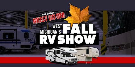 West Michigan's Fall RV Show - Saturday 10/3 9AM-12PM tickets