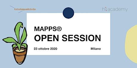 Open Session MAPPS® biglietti