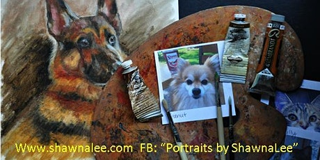 Pet Portrait Oil Painting Demonstration by ShawnaLee tickets