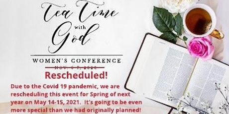 Tea Time with God - Vendor Tickets tickets