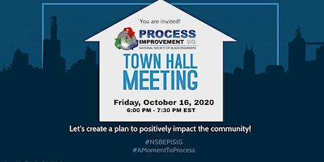 NSBE Process Improvement SIG Town Hall - Fall 2020 tickets