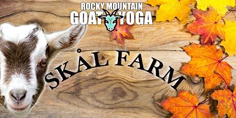 Goat Yoga - October 3rd(Skål Farm) tickets