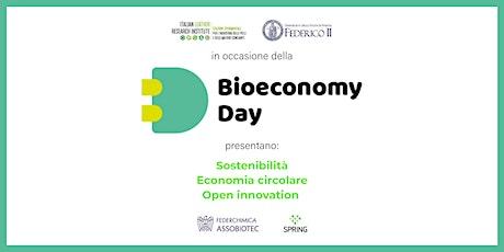 Bioeconomia: Sostenibilità, Economia Circolare e Open Innovation biglietti